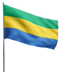 Gabon Flag Image