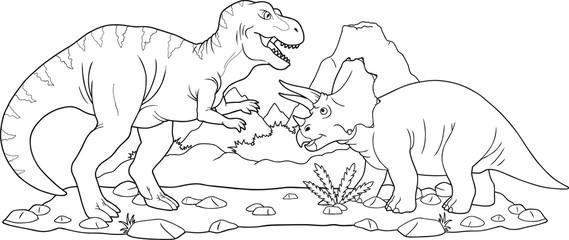 battle dinosaurs