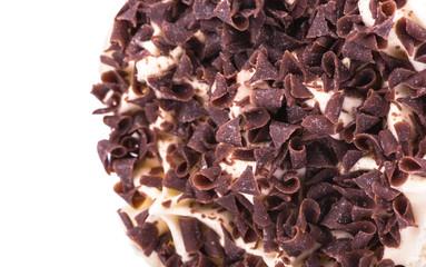 Ice cream closeup