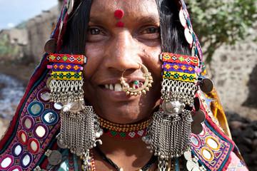 Femme Lambani, Bijapur Inde