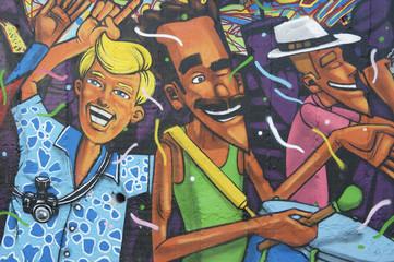 Lapa Rio de Janeiro Brazil Graffiti