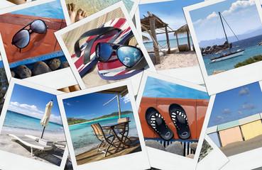 Photographies Souvenir Vacances d'été