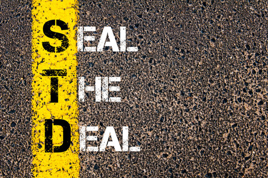 Business Acronym STD as SEAL THE DEAL