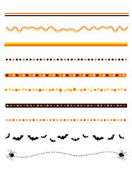Halloween divider / frame