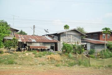 Dorf in Thailand