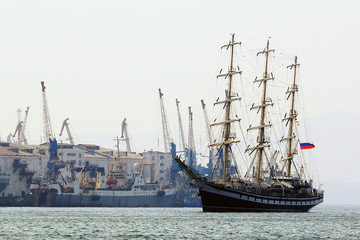 the sailing vessel returns to sea campaign