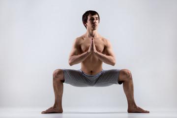 Yoga Goddess Pose (Utkata Konasana)