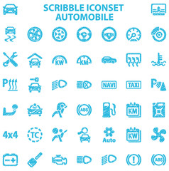 Scribble Iconset Automobile