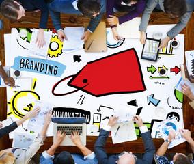 Branding Marketing Advertising Identity Business Concept