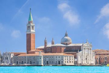 Wall Mural - View of San Giorgio island, Venice, Italy