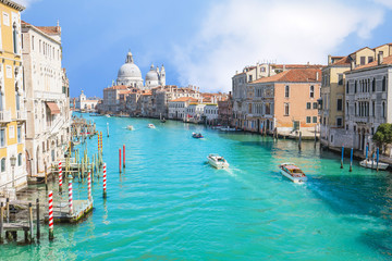 Wall Mural - Summer at grand canal in Venice, Italy