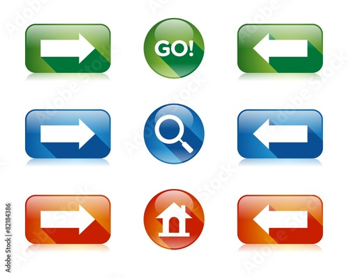 Go Search Home Forward Back Button Element