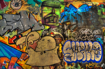 Taggs à Marseille