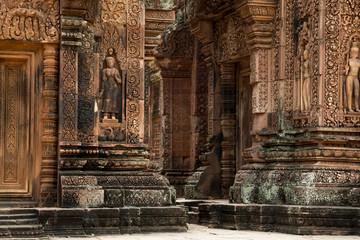 Banteay Srei walls