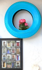 Blue wheel-Kas-Turkey