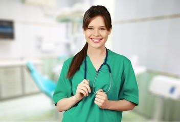 Nurse. Doctors: Attractive Nurse