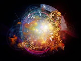 Virtual Life of Sacred Geometry