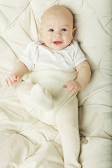 laughing cute baby