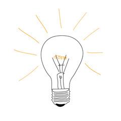 lampadina, creatività, idea, idee,