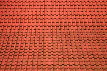 Roof from a tile