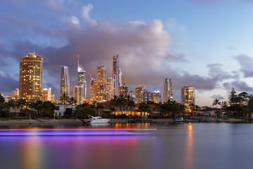 Brisbane skyline, Australie