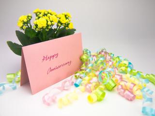 Massage Card; Happy Anniversary