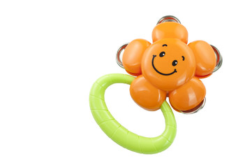 Smiling Face Baby Rattle