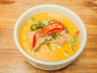 Thai beef green curry