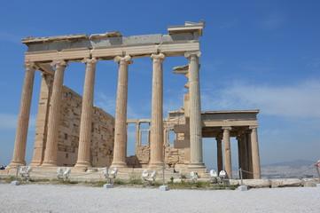 Erehteion in Acropolis of Athens