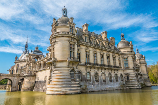 Chantilly Castle in France