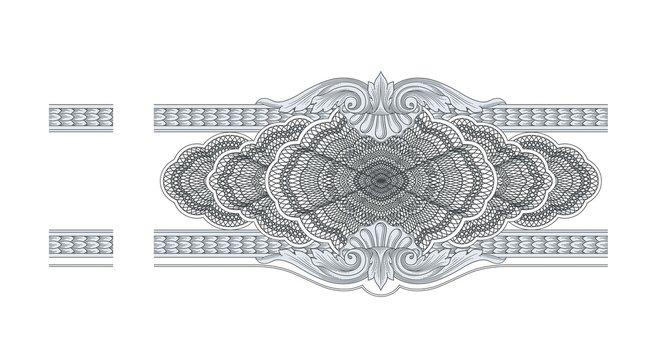 Border Frame Engraving vector