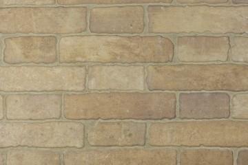 tiles imitating a brick wall, internal wall, texture background