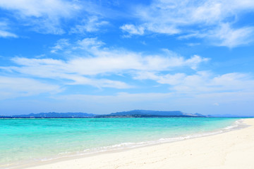 美しいビーチとさわやかな空