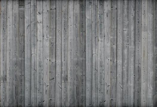 Gray wood wall. 3d render