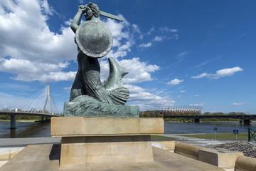 The Warsaw Mermaid called Syrenka