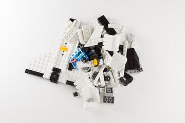 plastick brick