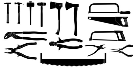 Tools Silhouettes