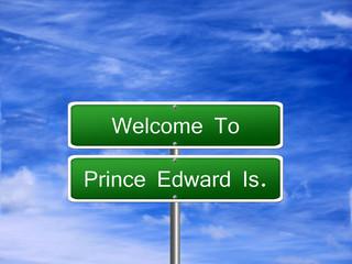 Prince Edward Island Sign