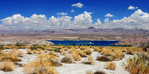 Wall Mural - Lake Mohave Landscape Nevada