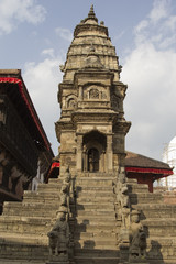 Ancient temple in Bhaktapur, Nepal