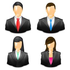 Zestaw awatarów biznesowych