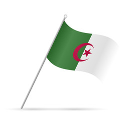 Algeria Flag Illustration