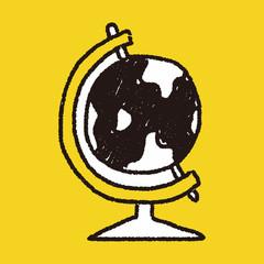 doodle globe
