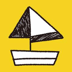 doodle sailboat
