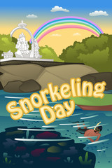 Snorkeling poster