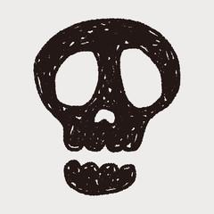 Doodle Skull