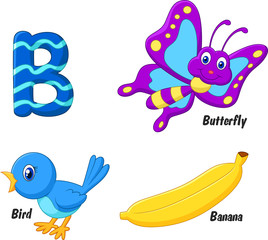 Illustrator of B alphabet