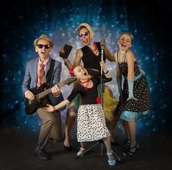 Rockabilly musician family