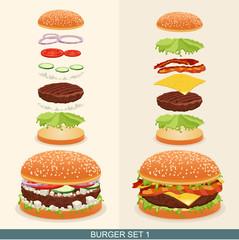Burger set 1