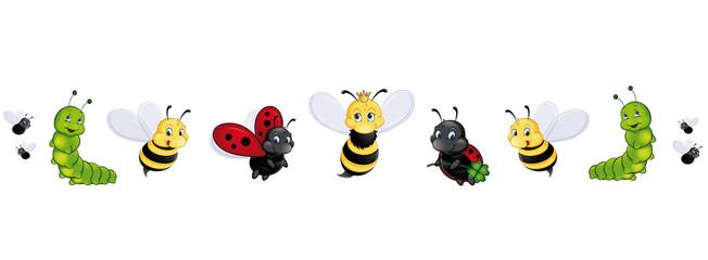 Insekten Panorama Set
